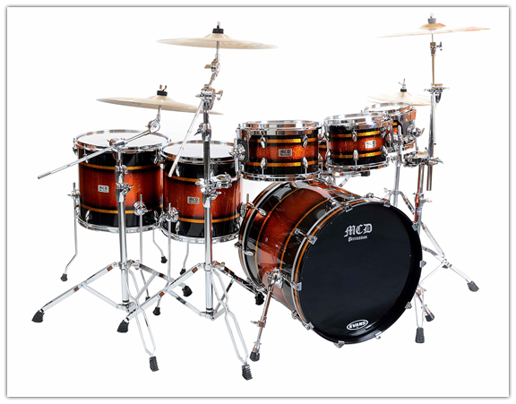 MCD Percussion Flagship drum series OSS Optimal Sound Series